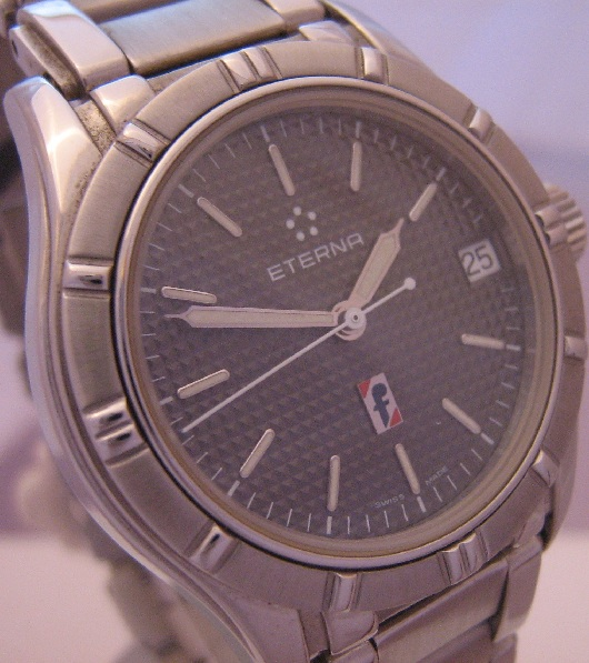 Eterna Pininfarina Limited Edition, Grey Dial, Steel Bracelet
