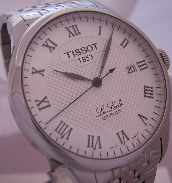 Tissot Le Locle Automatic, Silver Dial With Steel Bracelet
