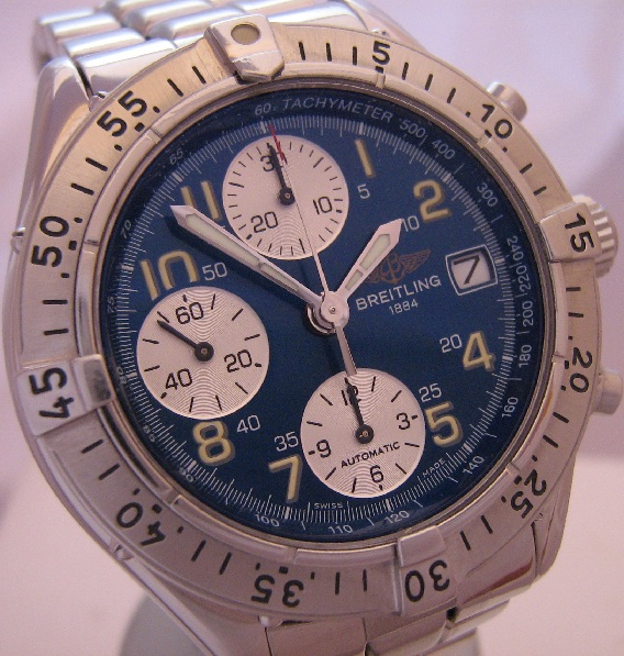 Breitling Colt Automatic Chronograph, Blue Dial With Bracelet