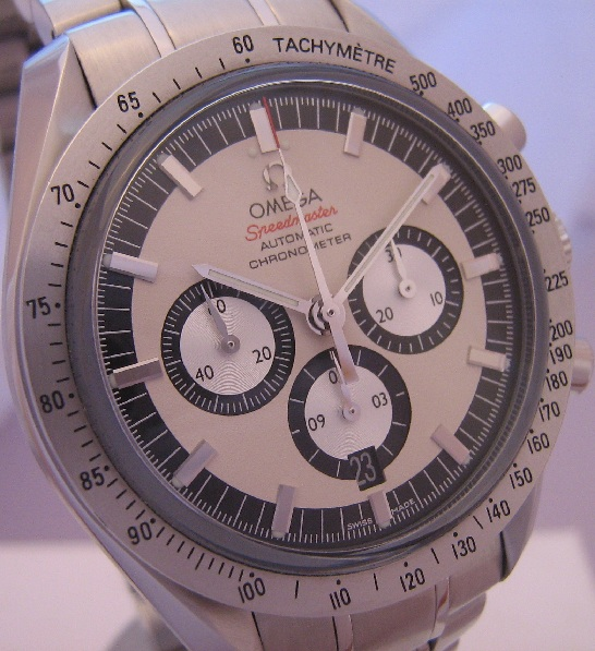 Omega Speedmaster Schumacher Legend, White Dial With Bracelet