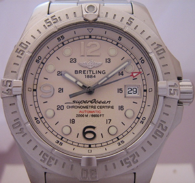 Breitling SuperOcean Steelfish, Silver Dial With Bracelet