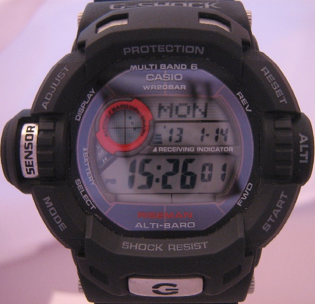 Casio G Shock Riseman Atomic Solar