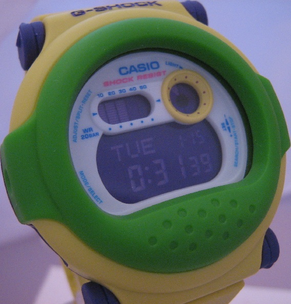 Casio G Shock Hypercolour Jason