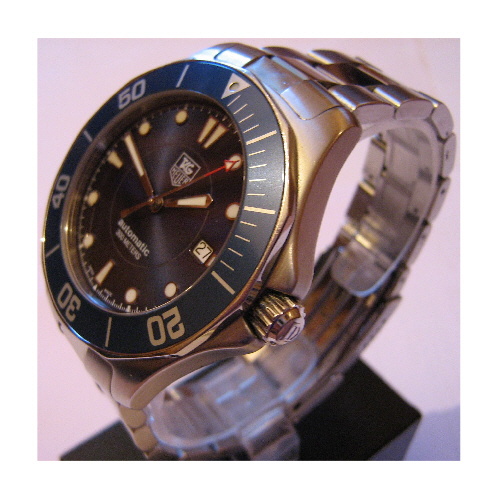 Tag Heuer Aquaracer, Blue Dial With Stainless Steel Bracelet