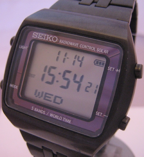 Seiko Power Design Project Solar, Grey Dial, Black IP Bracelet