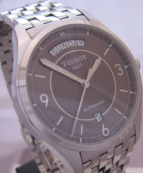 Tissot T-One Automatic, Grey Dial With Steel Bracelet