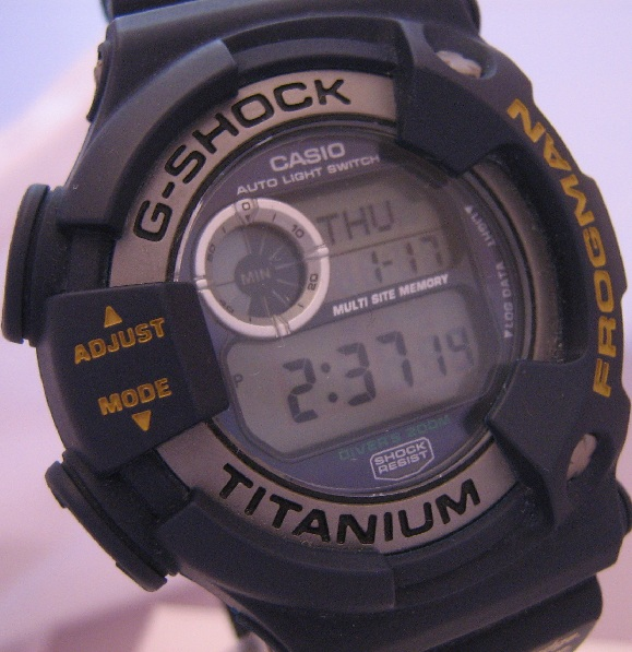 Casio G Shock Mad Dog Expeditions Frogman