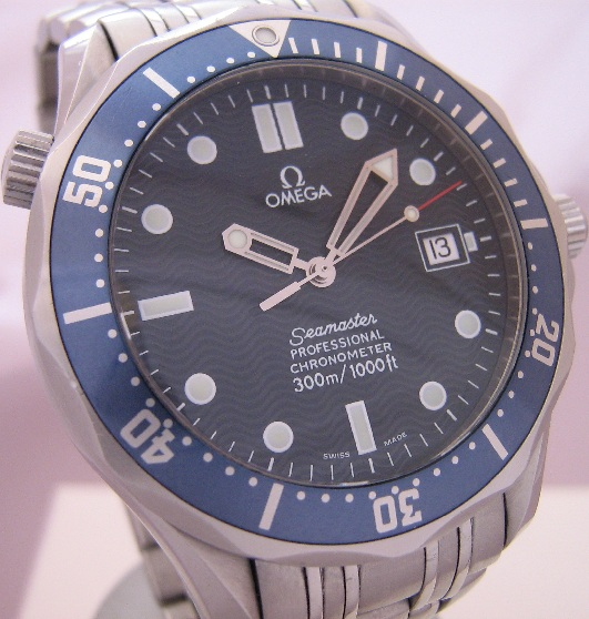 Omega Seamaster Professional, Blue Dial With Steel Bracelet