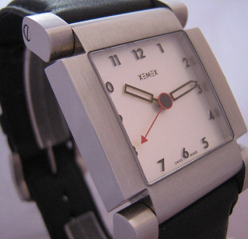 Xemex Avenue Automatic, White Dial With Leather Strap