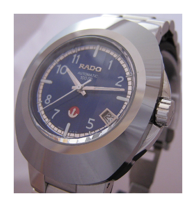 Rado Diastar Original, Blue Dial With Stainless Steel Bracelet