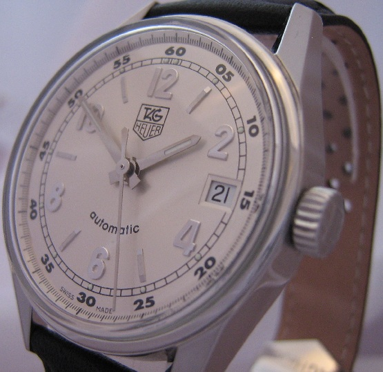 Tag Heuer Carrera Classic, Silver Dial, Leather Strap